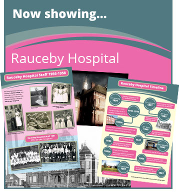 Now Showing Rauceby Hospital Exhibition