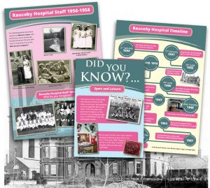 Rauceby hospital exhibition at Sleaford Museum