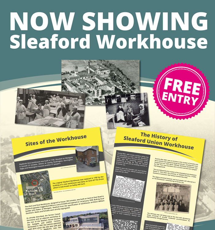 Now Showing Sleaford Workhouses